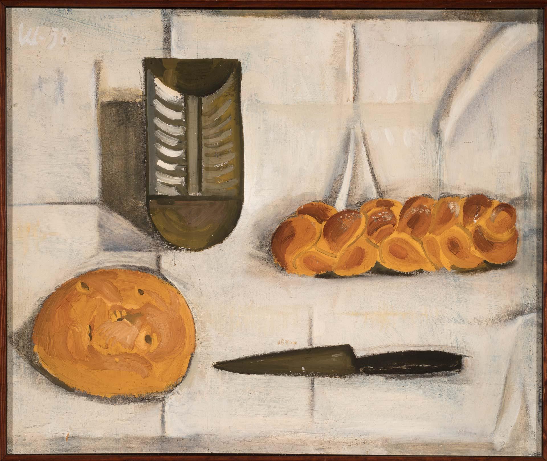 Kauko Lehtisen teos: Leipiä pöydällä